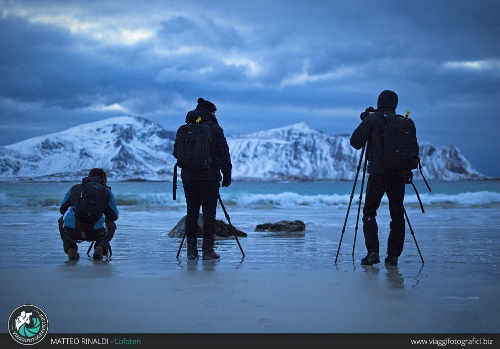 Backstage del viaggio fotografico in norvegia