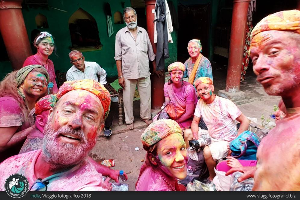 gruppo fotografico india