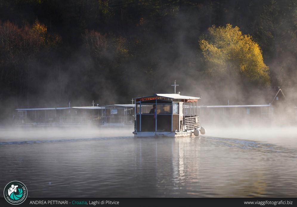 In barca ai Laghi di Plitvice