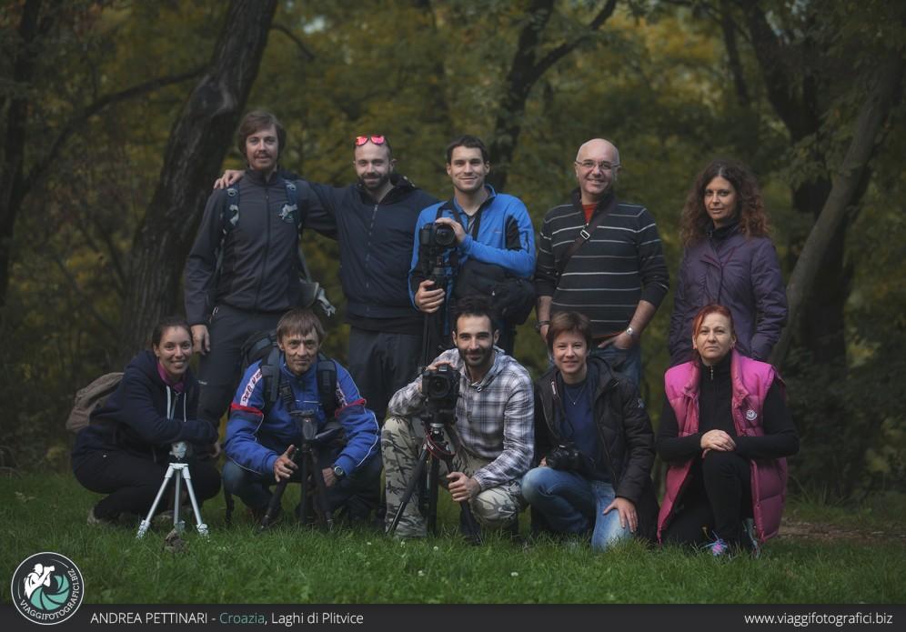 Gruppo 2015 ai Laghi di Plitvice