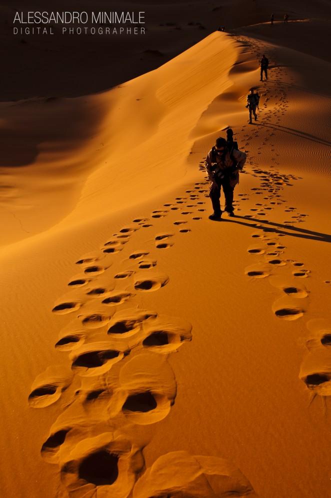 Backstage viaggio fotografico marocco, deserto merzouga.