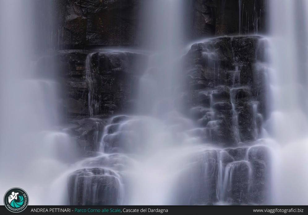 Dettaglio delle cascate