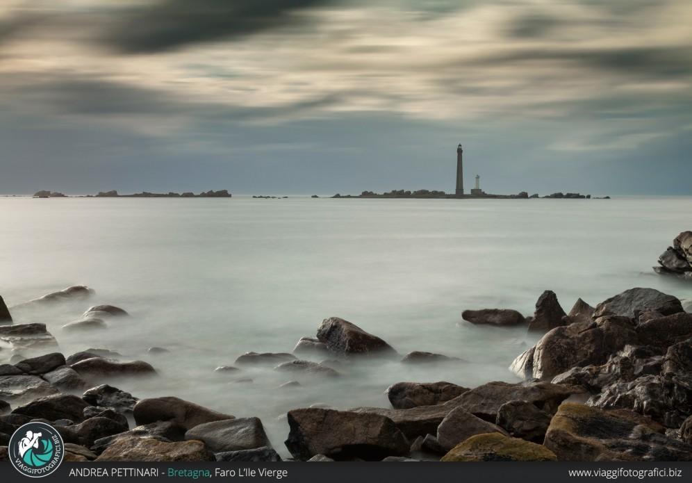 Faro De L'ile Vierge