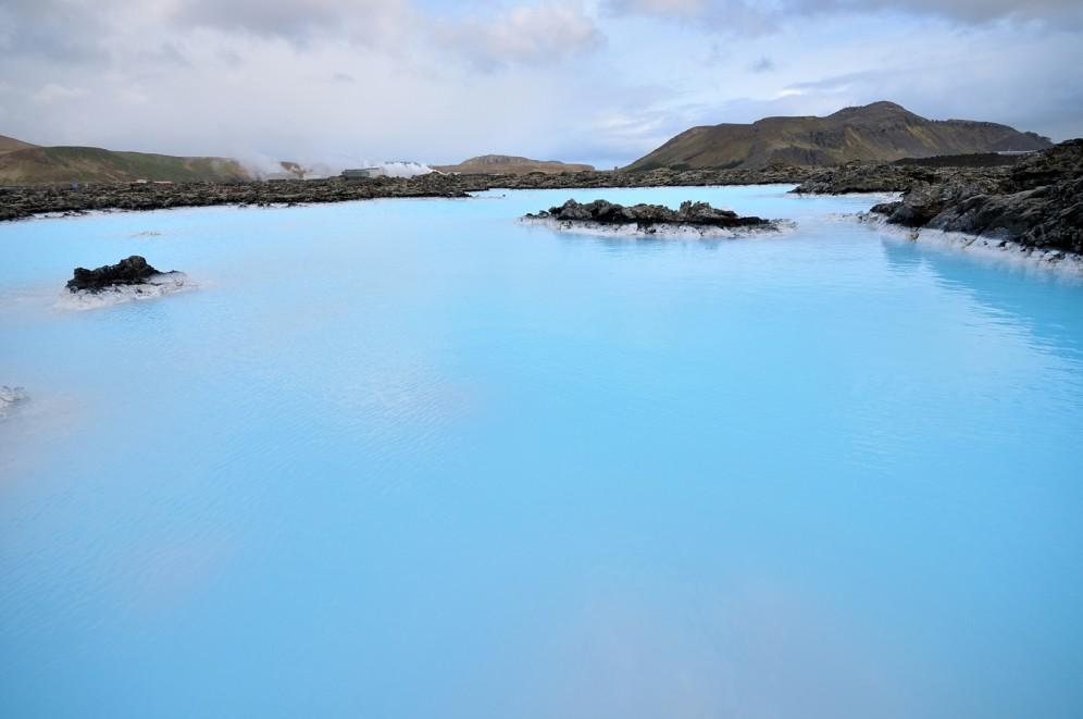 Foto della blue lagoon in Islanda!