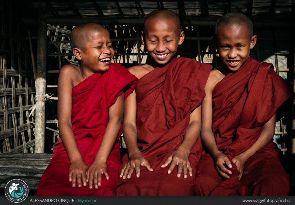 Giovani monaci