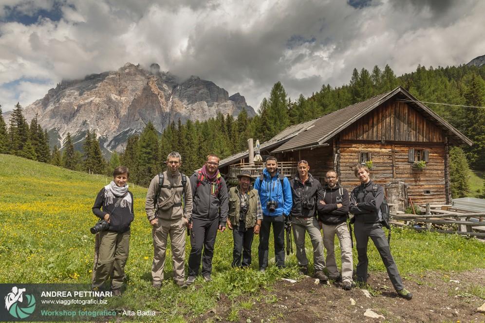 Gruppo workshop Val Badia 2014