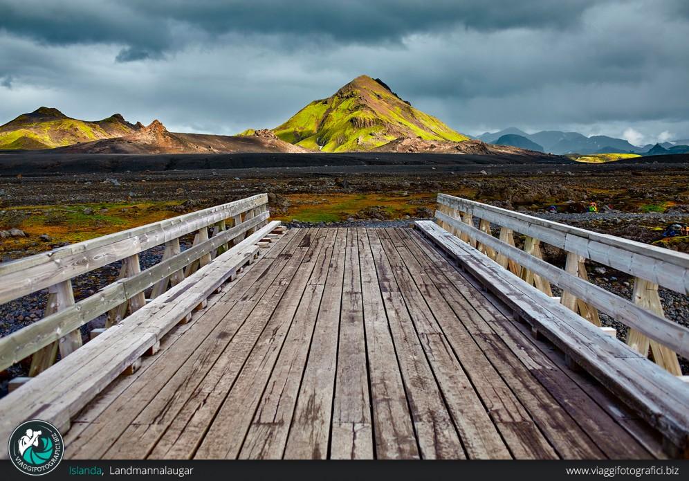Landmannalaugar e pontile