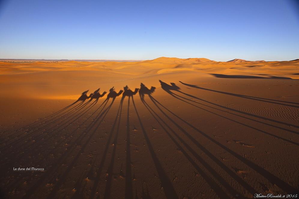 Le dune del Marocco.