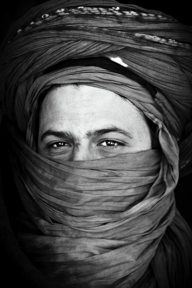 Marocco - Ritratto di un Berbero.