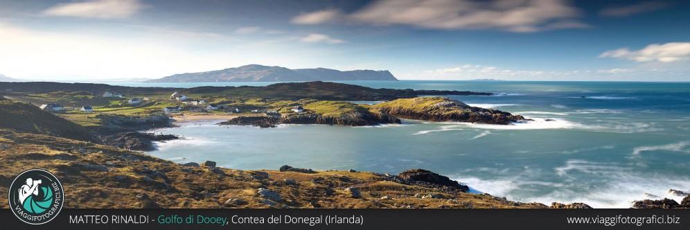 Panoramica sul golfo di Dooey, Contea del Donegal – Irlanda.
