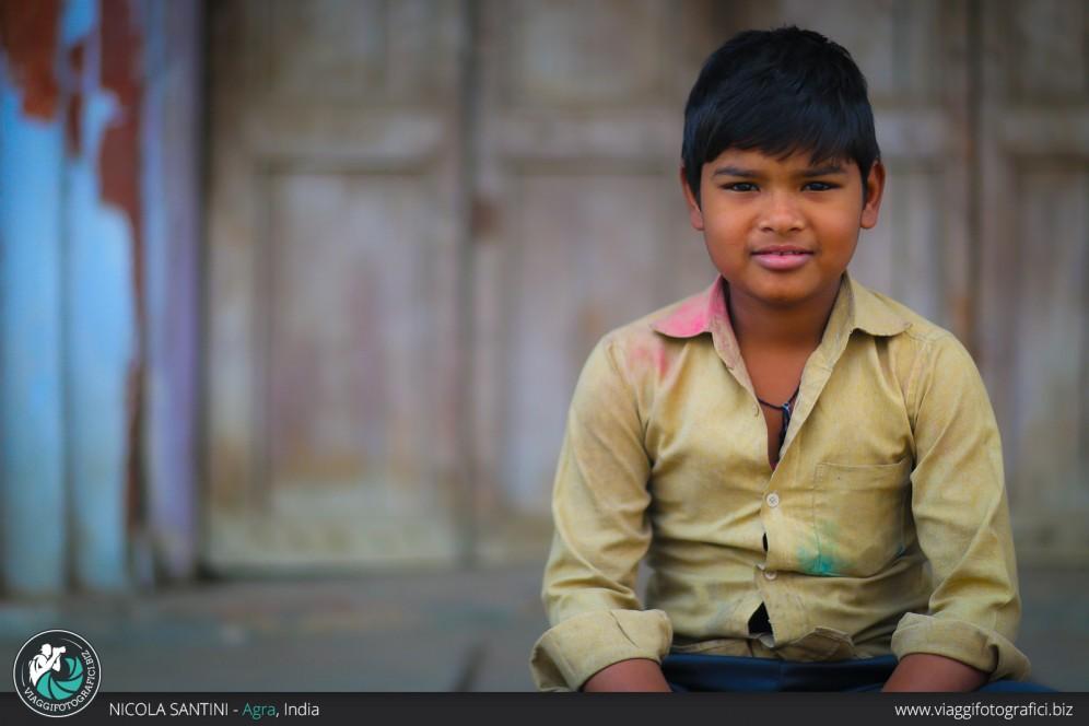 Portrait in Agra.