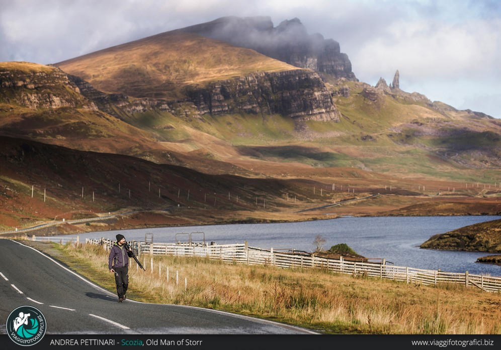 Ritorno dall'Old Man of Storr