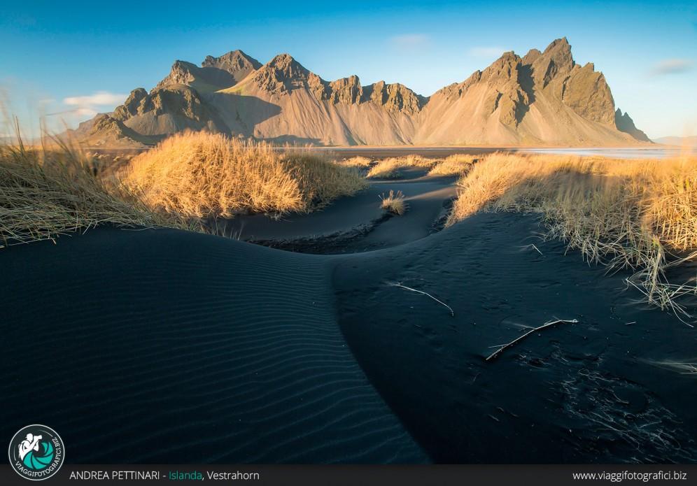Sabbia nera a Vestrahorn