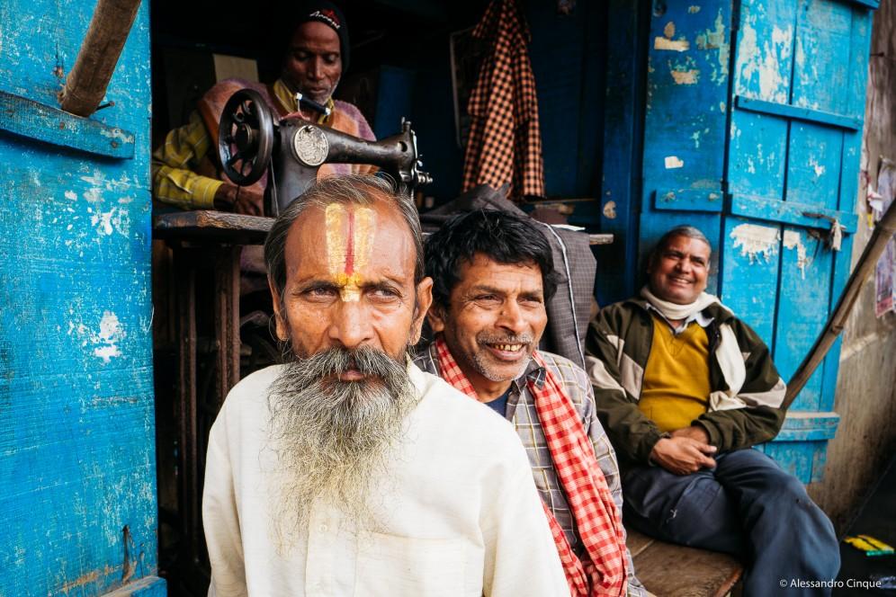 Scene di vita quotidiana a Jaipur.