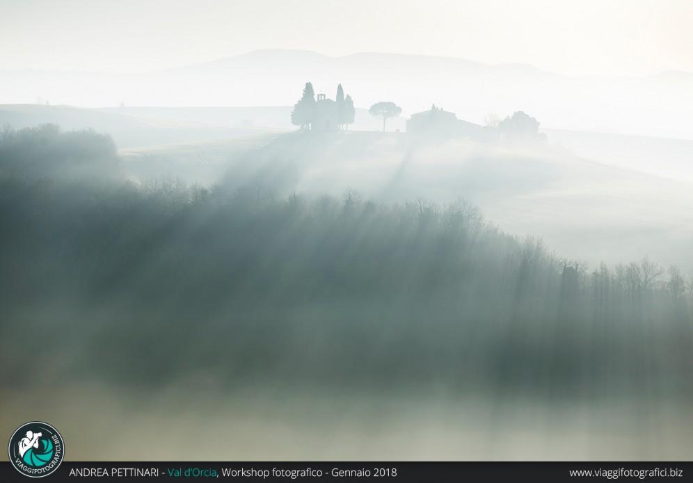 Vitaleta nella nebbia
