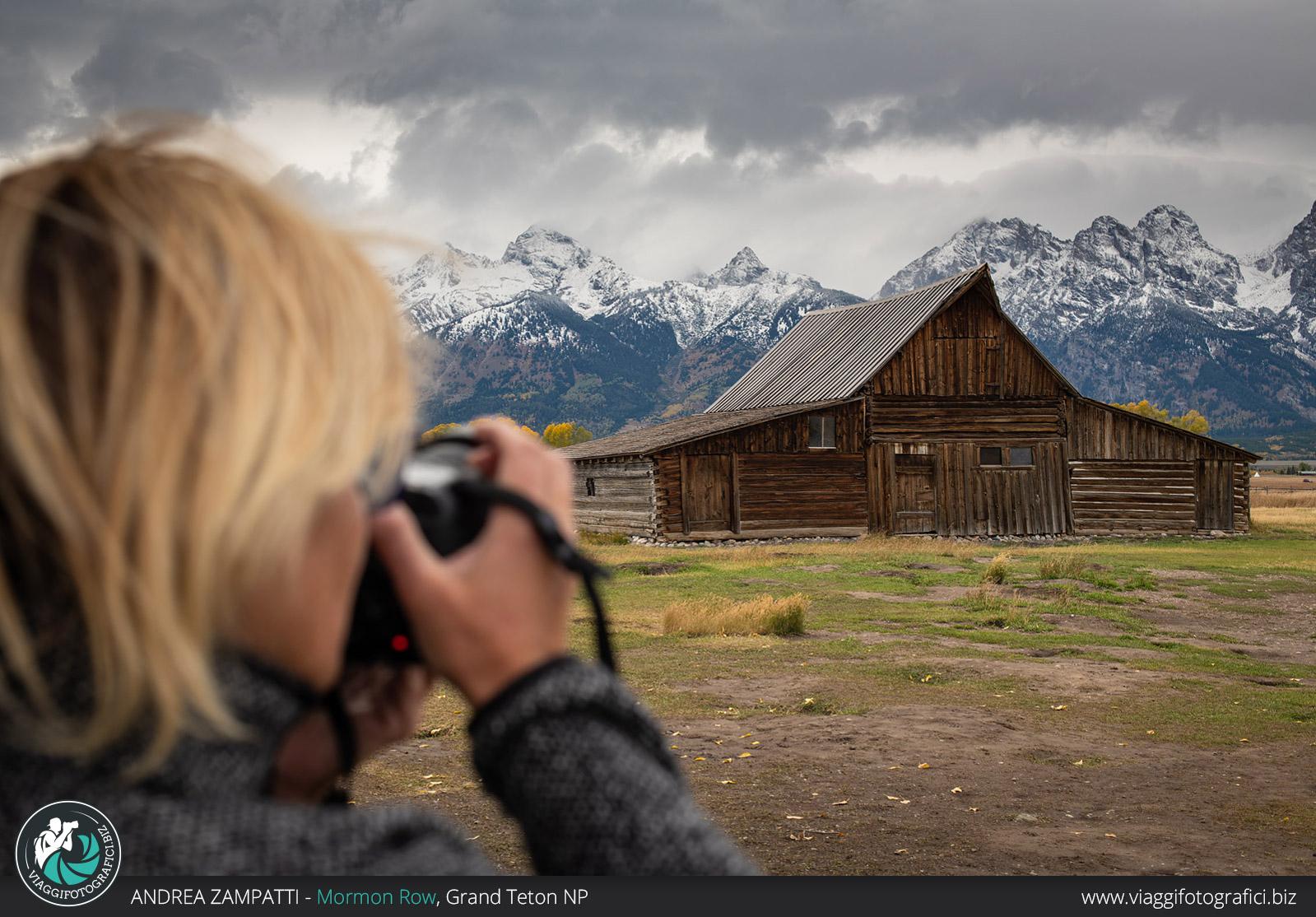 Backstage dal nostro viaggio fotografico nel Grand Teton